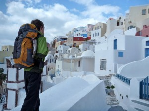 BackpackingSantorini